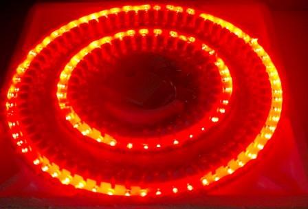 Гирлянда (синяя коробка)100 LED красная