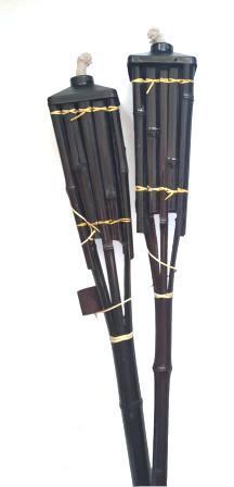 Факел бамбуковый садовый на масле Б-07