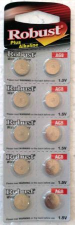Элемент питания  Robust G8 (10)