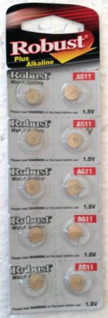 Элемент питания Robust G11 (10)