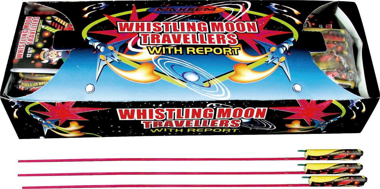 """Ракеты """"Whistling Moon Travellers"""", набор 12шт, 1/12/240"""