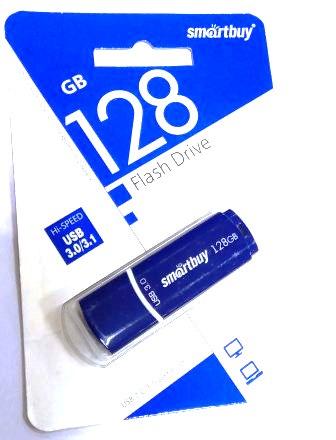 Флеш-накопитель 128GB 3.0 Smart Buy Crown синий