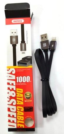 Кабель ReMax Safe&Speed Data Cable M-COW iPhone5 1м