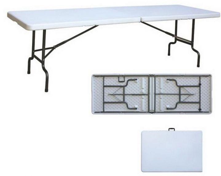 Стол складной ZL-Z180-2, 180*74*74см УЦЕНКА