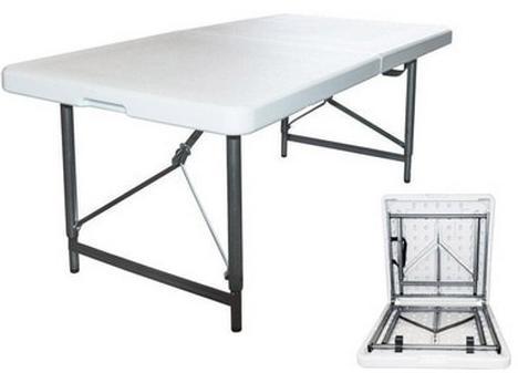 Стол складной ZL-Z122, 122*61*74см УЦЕНКА