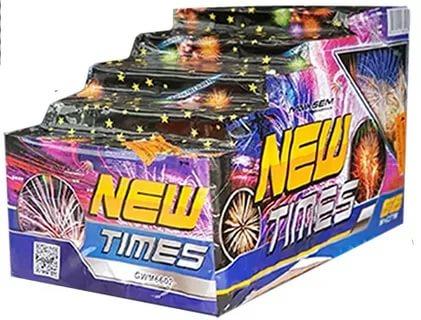 "Батарея салютов ""NEW TIMES""  66 залпов * 0.8-1-1.2-1.5-2""  1/2"