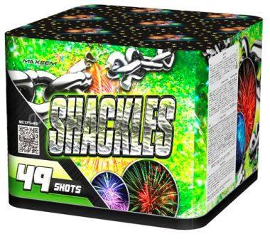 "Батарея салютов ""SHACKLES""  49 залпов * 1.7""  1/2"
