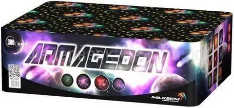 "Батарея салютов ""ARMAGEDON""  300 залпов * 0.8""  1/1"
