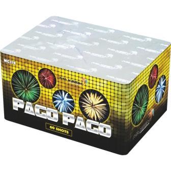 """Батарея салютов """"PAGO PAGO""""  60 залпов * 1.2-1.5""""  1/2"""