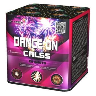 "Батарея салютов ""DANCE ON CALSS""  25 залпов * 1.5""  1/4"