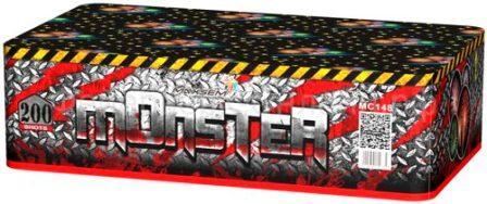 "Батарея салютов ""MONSTER""  200 залпов * 0,8""  1/2"