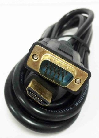 "Кабель ""SGL"" VGA-HDMI 1,5m (1592-550)"