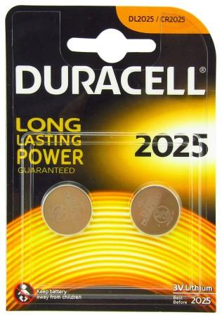 Эл.питания Duracell DL 2025 display bl2