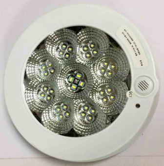 Светильник  HY08-36, 7W, 28led, 220V, датчик освещенности