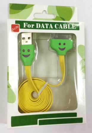 кабель USB Iphone 4S/4G/3GS Led 32213 yello