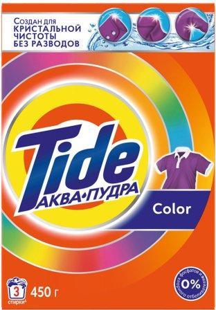 TIDE Авт СМС порошк. Color 450г