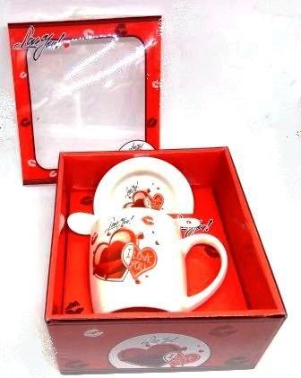 Кружка+блюдце в подарочной упаковке L7008