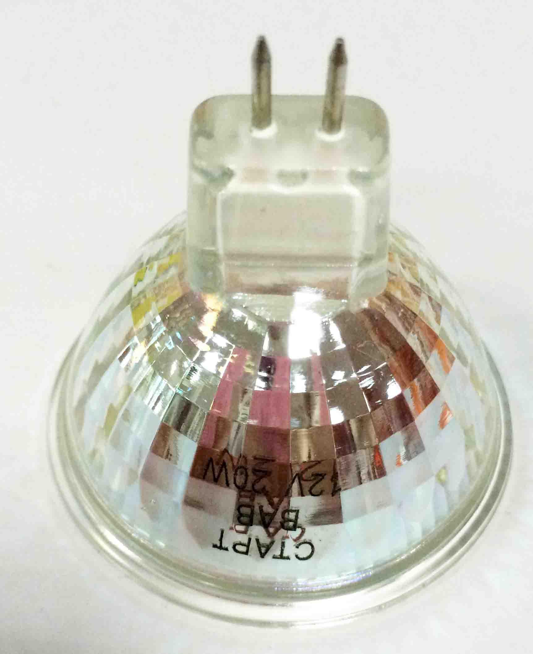 Лампа СТАРТ MR16 12V20W BAB