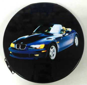 Металлическая сумка для дисков CD-24 BMW авто /20