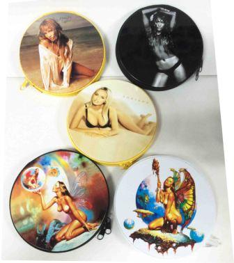 Металлическая сумка для дисков CD-24 Girls /20