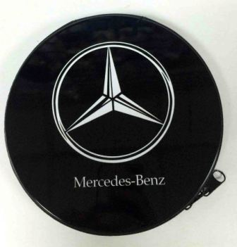 Металлическая сумка для дисков CD-24 MERCEDES-BENZ