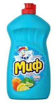 МИФ Средство для мытья посуды Свежесть цитрусов 500мл