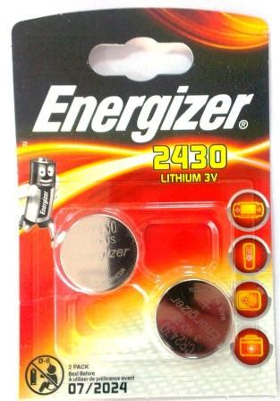 Элемент питания ENR CR2430 Lithium S FSB2 E300830301  1/10