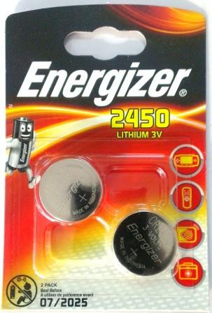 Элемент питания ENR CR2450 Lithium S FSB2 E300830701  1/10