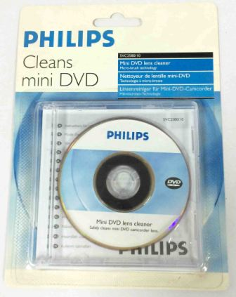 Очиститель для объектива Мини DVD  PHILIPS SVC2580