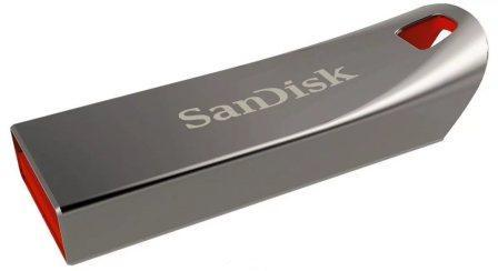 USB флэш-диск SanDisk 32GB CZ71 Cruzer Force, silv