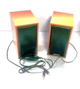 """Колонки Perfeo """"Cabinet"""" 2.0, USB бук PF-84-WD"""