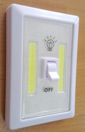 """Фонарь """"Выключатель"""" M1703 LED 3*AAA 150lm 1/12/240"""