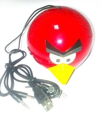 Радиоприемник ANGRY BIRDS (58232), красный