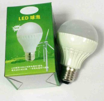 Светодиодная лампа 7W E27 840 (20-7) 69х107мм холо