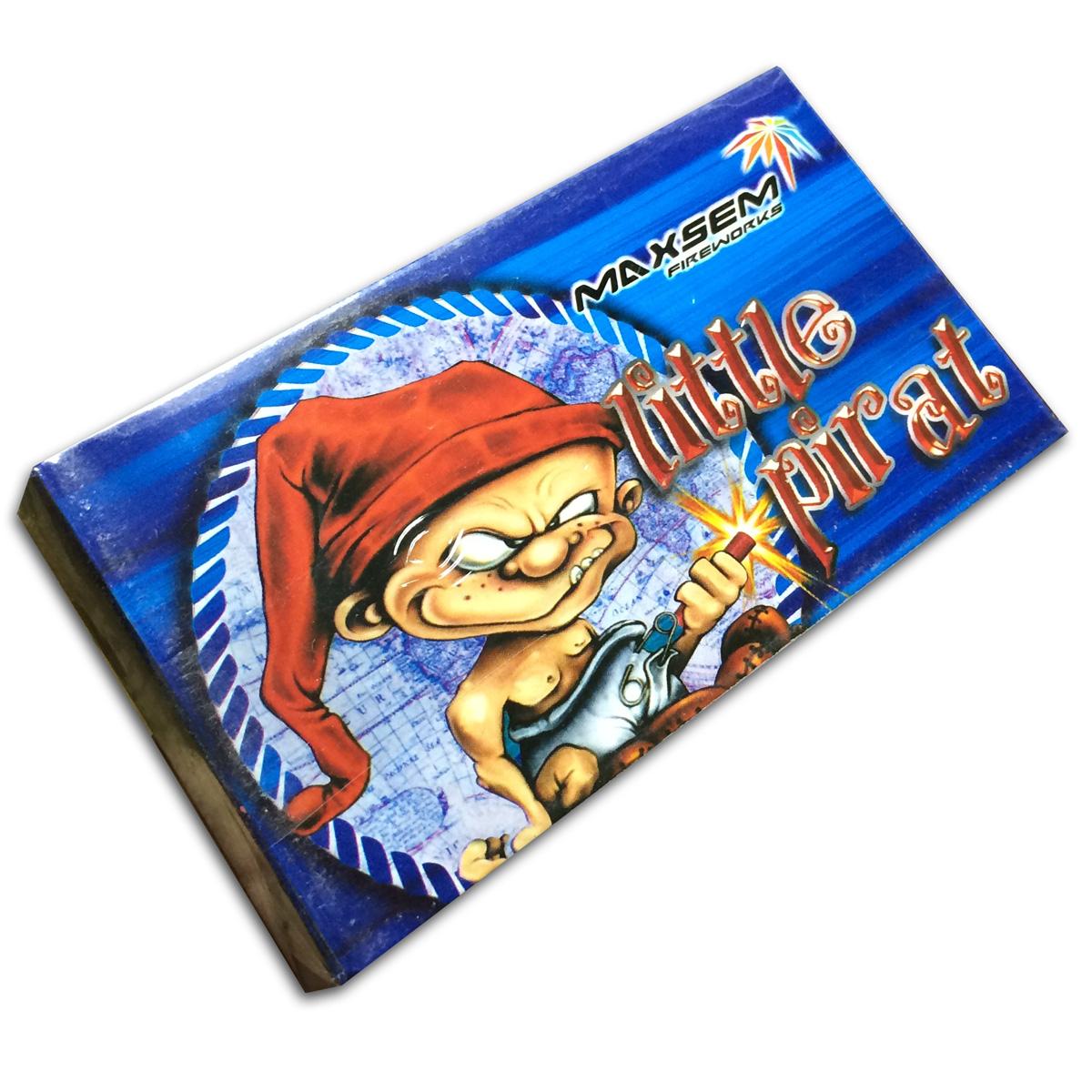 "Петарда терочная ""Little Pirat"" 0203/2 (3корсар, 2 хлопка) (50 петард) 1/100"