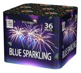 "Батарея салютов ""BLUE SPARKING""  36 залпов * 1.2""  1/4"