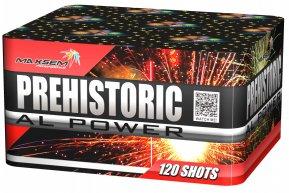 "Батарея салютов ""PREHISTORIC AL POWER""  120 залпов * 1.2""  1/1"