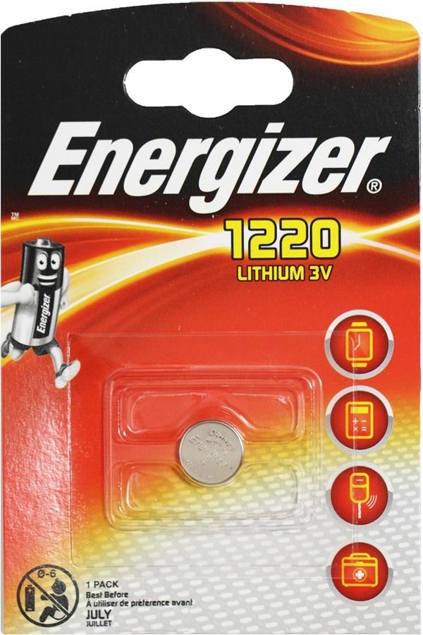 Элемент питания ENR CR1220 Lithium BL1 E300843802  1/10