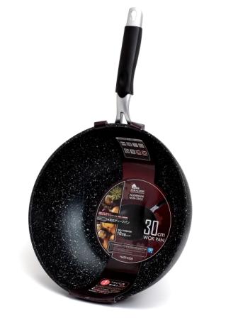 Сковорода мрамор d 0230 Wok Pan