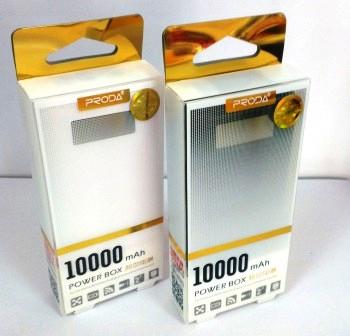 Внешний аккумулятор ReMax Proda Delicated, 10000mAh