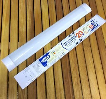 Светильник светодиодный линейный ТМ IONICH 20Вт 4000К IP40 ILED-SMD-СПО600-20-1600-220-4-IP40 (ZJ19