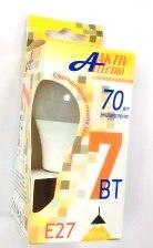 Лампа AktivElektro LED A60  7Вт Е27 3000К /100