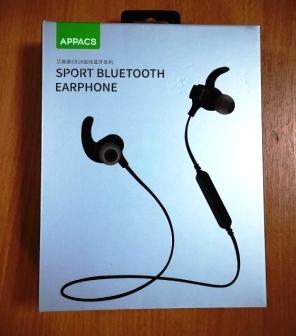 Bluetooth стереогарнитура APPACS APE18 waterproof