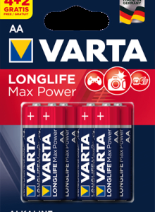 4706 Элемент питания к-т4+2 VARTA LONGLIFE MAX POWER lr6 1/10/50