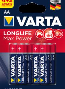 4706 Элемент питания к-т4+2 VARTA LONGLIFE MAX POWER lr6 1/10/50