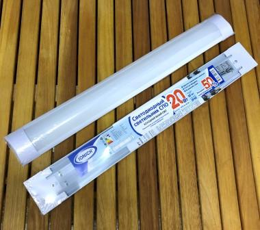 Светильник светодиодный линейный ТМ IONICH 20Вт 6500К IP40 ILED-SMD-СПО600-20-1600-220-6500-IP40