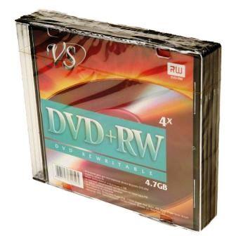 Диск VS DVD+RW 4,7 GB 4x SL/5