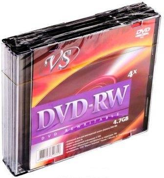 Диск VS DVD-RW 4,7 GB 4x SL/5