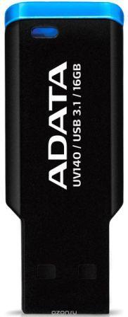 Флеш накопитель 16GB A-DATA UV140, USB 3.0 Черный/синий