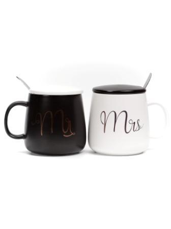 Кружки подарочная пара Mr&Mrs